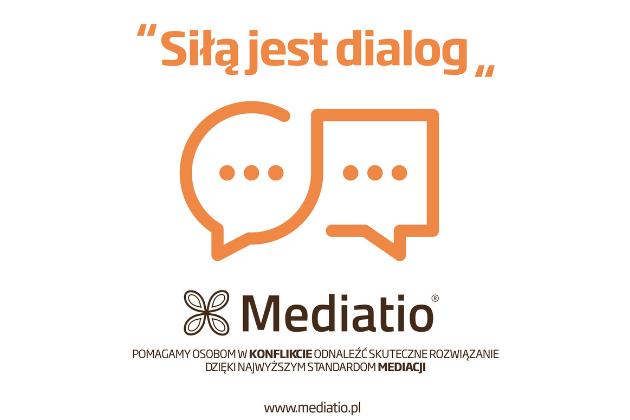 Siłą jest dialog - infografika