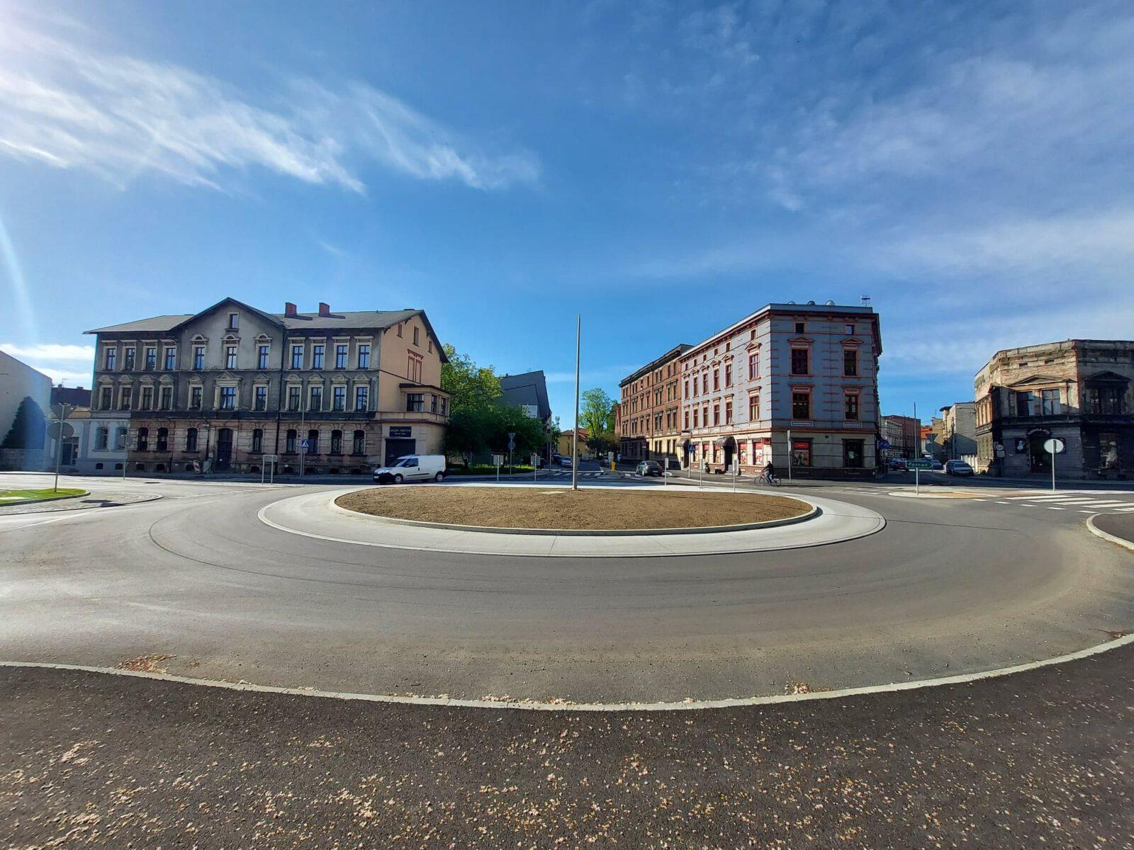 Zdjęcie nowego ronda w Tarnowskich Górach
