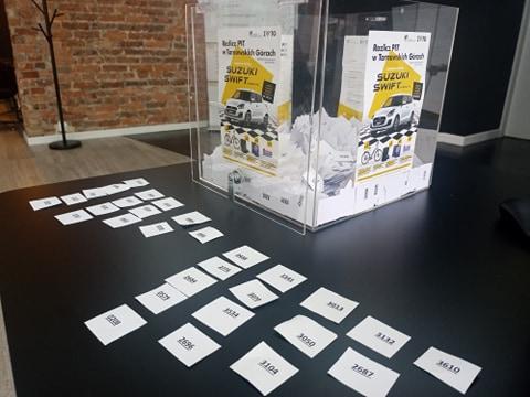 Finał miejskiej loterii Rozlicz PIT w TG - zdjęcia z losowania