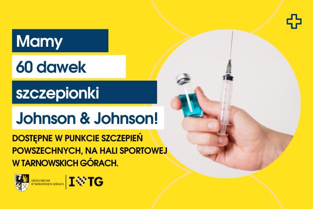 60 dawek szczepionki Johnson & Johnson - infografika