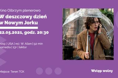 Zaproszenie do kina Olbrzym - TCK - Infografika