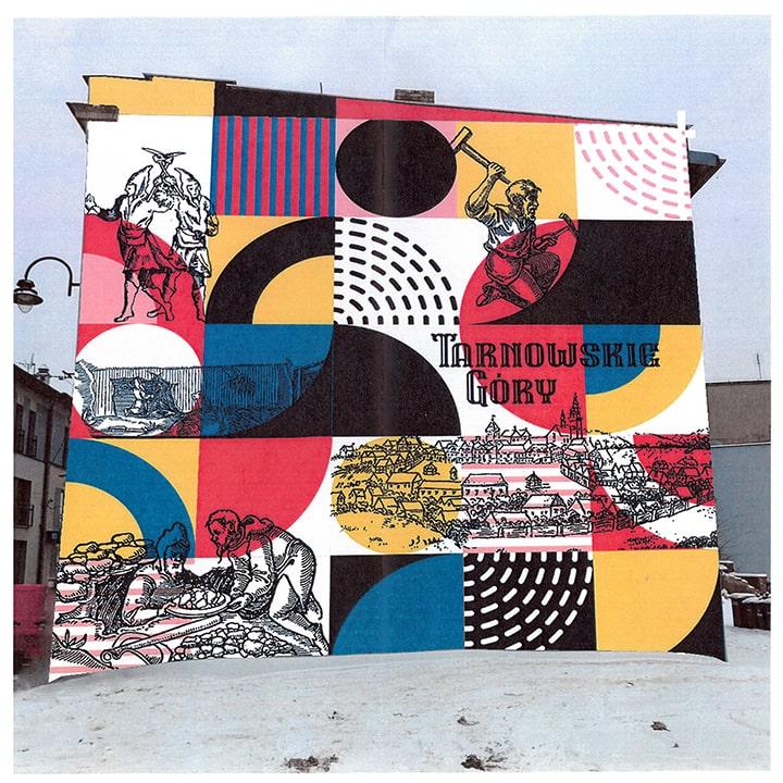 TGMural wybrany! - zwycięski projekt muralu