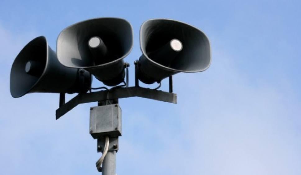 Syreny alarmowe - zdjęcie poglądowe