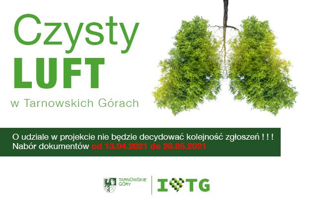 Czysty Luft w Tarnowskich Górach - infografika