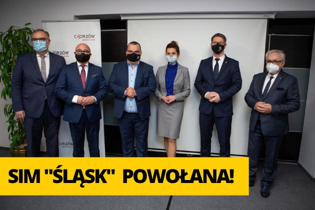 Zdjęcie wyróżnione wpisu - SIM Śląsk powołana do życia!