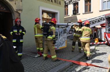 Ćwiczenia przeciwpożarowe w Muzeum - ewakuacja