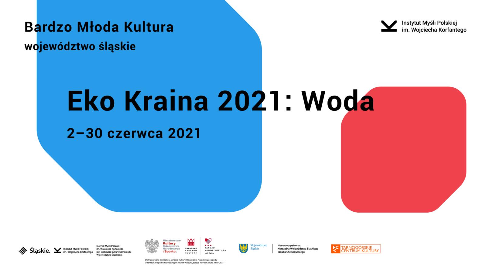 Eko Kraina 2021 WODA 2-30 czerwca 2021 - infografika