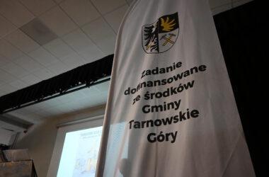 Flaga - zadanie dofinansowane ze środków Gminy Tarnowskie Góry
