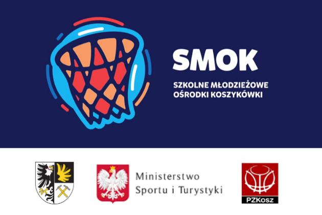 Szkolne Młodzieżowe Ośrodki Koszykówki - infografika