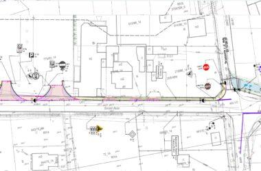 Projekt architektoniczny ścieżki pieszo-rowerowej do Kopalni.
