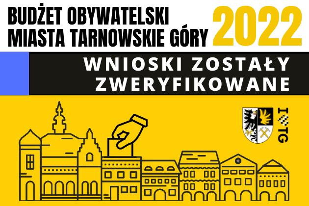 Zdjęcie wyróżnione wpisu - Budżet Obywatelski Miasta Tarnowskie Góry 2022 – wnioski zweryfikowane!
