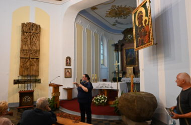 Wnętrze kościoła świętej Anny