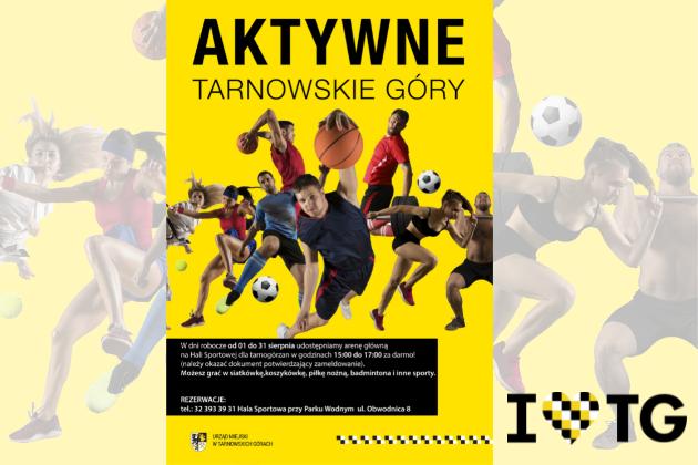 Zdjęcie wyróżnione wpisu - Aktywne Tarnowskie Góry czyli Hala Sportowa za darmo!