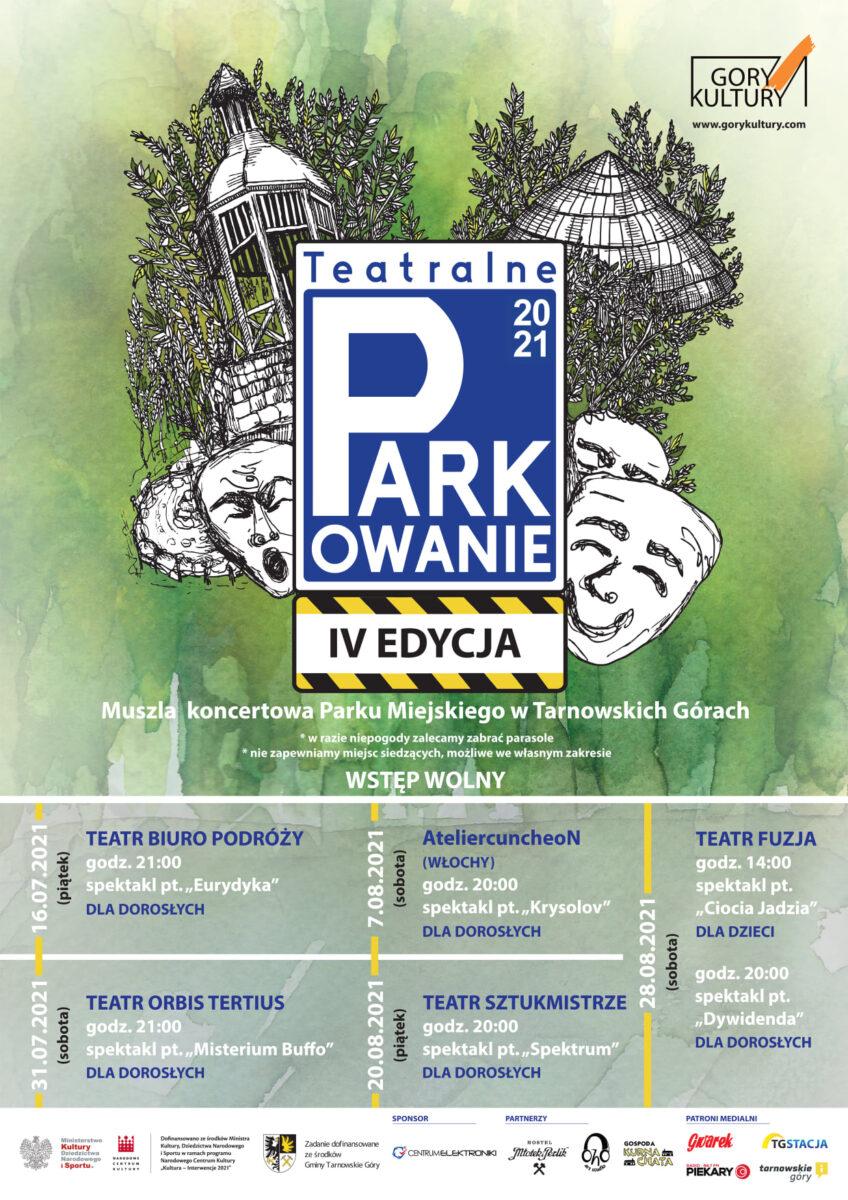 Plakat Teatralne Parkowanie