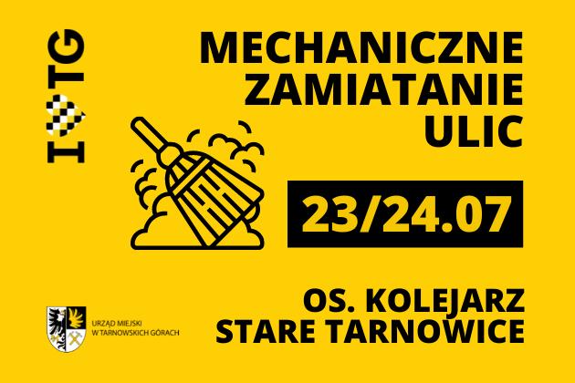 infografika - mechaniczne zamiatanie ulic