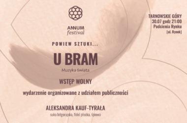infografika Annum Festival w podcieniach