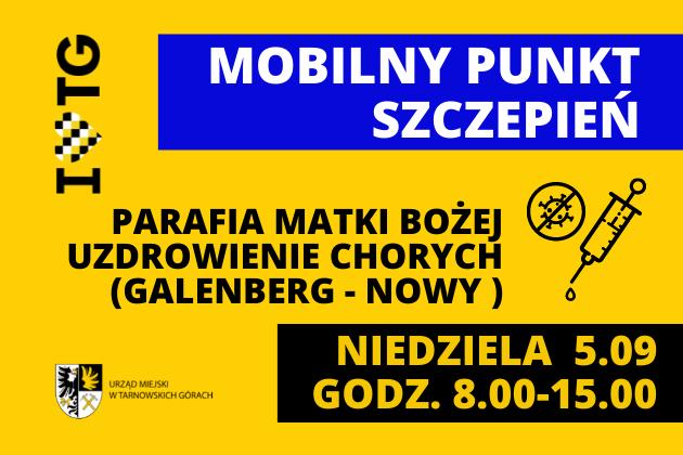 Infografika - Mobilny Punkt Szczepień
